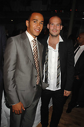 Left to right, LEWIS HAMILTON and  FREDRIK LJUNGBERG at the 10th annual GQ Men of the Year Awards held at the Royal Opera House, Covent Garden, London on 4th September 2007.<br /><br />NON EXCLUSIVE - WORLD RIGHTS