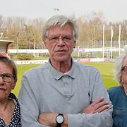 NLD/Amsterdam/20190330 - Boekpresentatie Oud keeper Jan Jongbloed, Jan en zussen