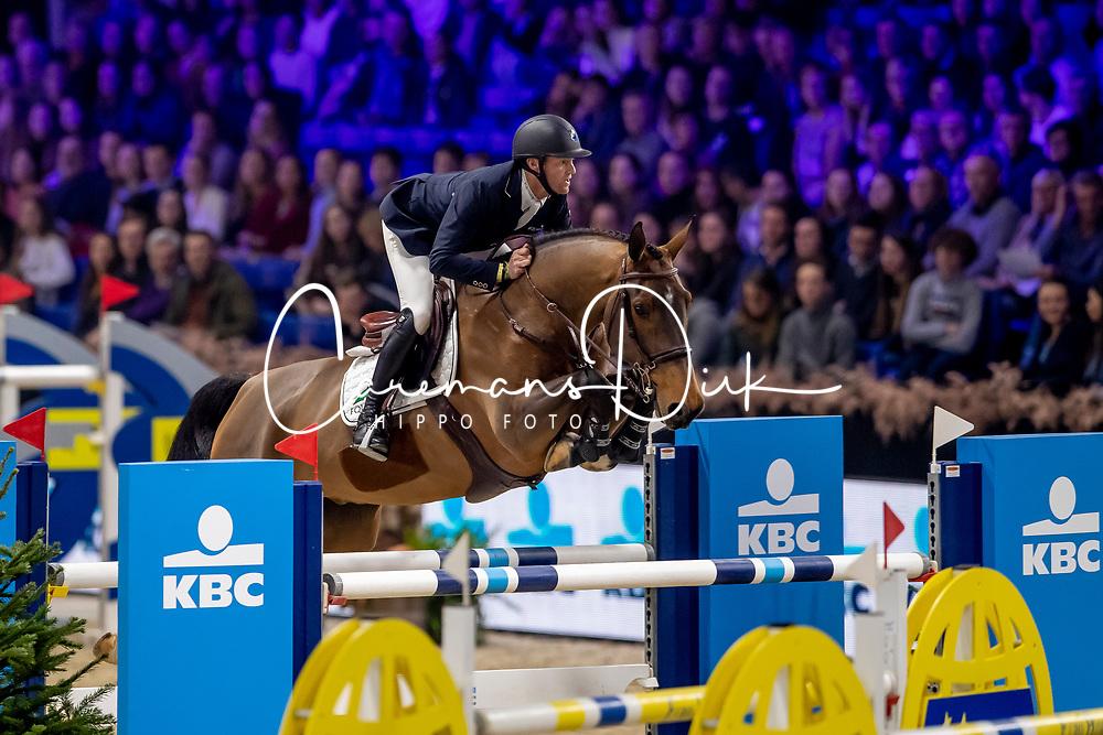 Bruynseels Niels, BEL, Kopernic van Orti<br /> Jumping Mechelen 2019<br /> © Hippo Foto - Dirk Caremans<br />  28/12/2019