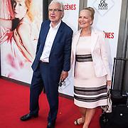 NLD/Amsterdam/20140622 - Premiere Bedscenes, henk van der Meijden en partner Monica Strtmann