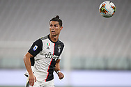 Juventus's Portuguese striker Cristiano Ronaldo during the Serie A match at Allianz Stadium, Turin. Picture date: 26th June 2020. Picture credit should read: Jonathan Moscrop/Sportimage