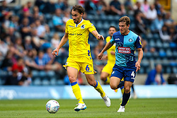 Edward Upson of Bristol Rovers goes past Dominic Gape of Wycombe Wanderers - Mandatory by-line: Robbie Stephenson/JMP - 18/08/2018 - FOOTBALL - Adam's Park - High Wycombe, England - Wycombe Wanderers v Bristol Rovers - Sky Bet League One