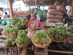 Vegetable stall in Mysore.