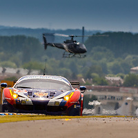#72 Ferrari 458 Italia, SMP Racing, Aleksey Basov, Andrea Bertolini, Viktor Shaytar, Le Mans 24H 2015