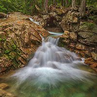 New England cascading waterfall photography along the Pemigewasset River in the Franconia Notch State Park of the New Hampshire White Mountains.<br /> <br /> Beautiful New Hampshire Pemigewasset River waterfall photography is available as museum quality photography prints, canvas prints, acrylic prints, wood prints or metal prints. Fine art prints may be framed and matted to the individual liking and interior design decorating needs:<br /> <br /> https://juergen-roth.pixels.com/featured/new-hampshire-pemigewasset-river-waterfall-juergen-roth.html<br /> <br /> Good light and happy photo making!<br /> <br /> My best,<br /> <br /> Juergen