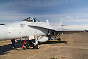 Arkansas, AR, USA, Airpower Arkansas 2006 was held at the Little Rock Air Force base November 2006 participation of the Air Force, Navy, National Guard and civilian aerobatics aviators. McDonnell Douglas F/A-18 Hornet multirole fighter