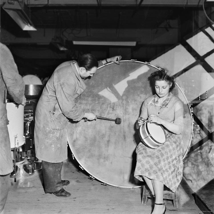 Making Drums, London, c1939