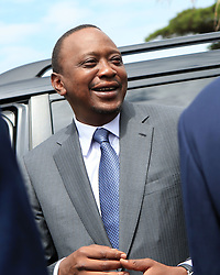 NAIROBI, Dec.5, 2014  File photo taken on Oct. 30, 2014 shows Kenyan President Uhuru Kenyatta attending a conference in Nairobi, Kenya. The prosecutor of the International Criminal Court (ICC) in The Hague dropped the charges against Kenyan President Uhuru Kenyatta on Dec. 5, 2014. (Xinhua/Meng Chenguang) (Credit Image: © Xinhua via ZUMA Wire)