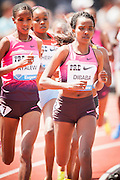 TIRUNESH DIBABA (ETH) won the womens 5000m competition during the second day of the Diamond League event Prefontaine Classic held at the University of Oregons Hayward Field.The Prefontaine Classic is named for University of Oregon track legend Steve Prefontaine. Dibabas time was 14:42:01