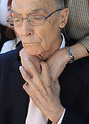 Portuguese Nobel writer Jose Saramago during a homage from saramago's home village Azinhaga (Golegã)<br /> Foto Paulo Cunha
