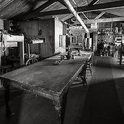 Wardroom dining area