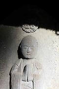 Sekibutsu, stone Buddha in Kamakura Japan