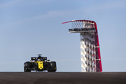 November 1, 2019, Austin, United States of America: Motorsports: FIA Formula One World Championship 2019, Grand Prix of United States, ..#3 Daniel Ricciardo (AUS, Renault F1 Team) (Credit Image: © Hoch Zwei via ZUMA Wire)