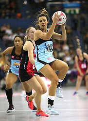 Surrey Storm's Yaz Parsons in action during the Vitality Netball Superleague Super Ten match held at Arena Birmingham