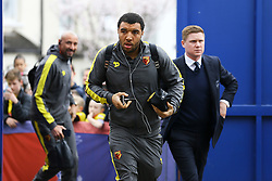 Troy Deeney of Watford arrives at Selhurst Park - Mandatory by-line: Jason Brown/JMP - 18/03/2017 - FOOTBALL - Selhurst Park - London, England - Crystal Palace v Watford - Premier League
