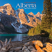 PRODUCT: Calendar<br /> TITLE: 2020 Wild & Scenic Alberta<br /> CLIENT: Browntrout