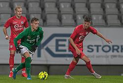 Magnus Kaastrup (Viborg FF) under kampen i 1. Division mellem Viborg FF og FC Helsingør den 30. oktober 2020 på Energi Viborg Arena (Foto: Claus Birch).