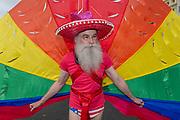 The annual Brighton Pride parade on the 3rd August 2019 in Brighton in the United Kingdom.