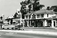 1973 Stores on Sunset Blvd. near Sunset Plaza Dr.