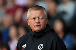Sheffield United manager Chris Wilder prior to the Carabao Cup, Second Round match at Bramall Lane, Sheffield.