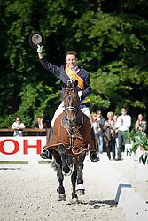 Van Lieren Laurens (NED) - President Citango D&R<br /> Nederlands Kampioenschap Dressuur ZZ zwaar<br /> Outdoor Gelderland - De Steeg 2010<br /> © Dirk Caremans