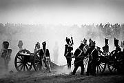 Waterloo, Belgium, Mai 1998, Commemorating the battle of Waterloo.<br /> PHOTO © Christophe VANDER EECKEN