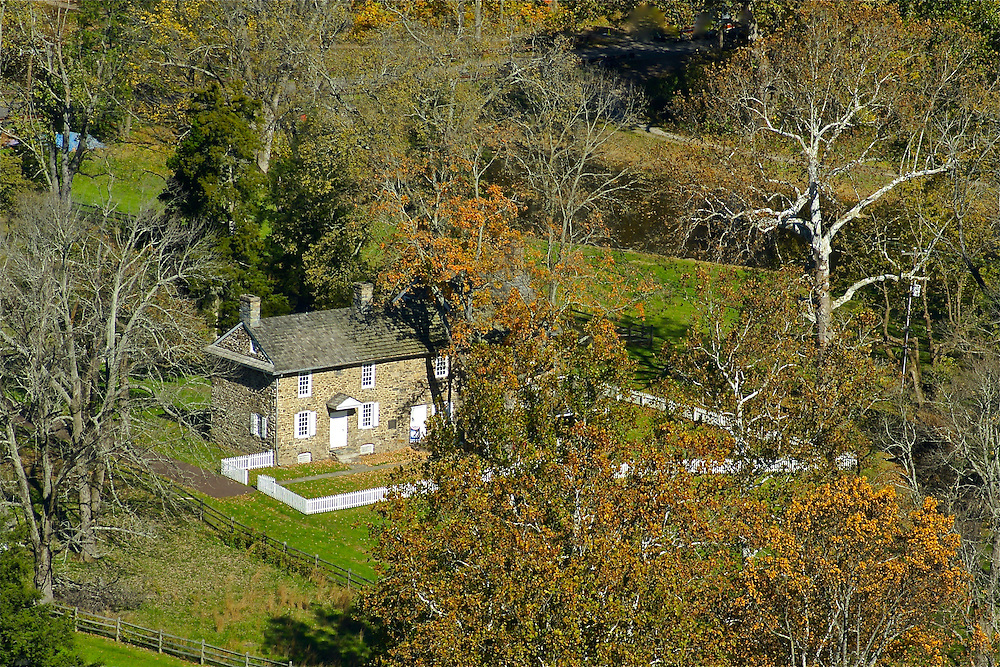 Thompson-Neely House, Washington Crossing Historic Park, PA state park,