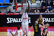 DESCRIZIONE : Varese FIBA Eurocup 2015-16 Openjobmetis Varese Telenet Ostevia Ostende<br /> GIOCATORE : Mouhammad Faye<br /> CATEGORIA : Schiacciata<br /> SQUADRA : Openjobmetis Varese<br /> EVENTO : FIBA Eurocup 2015-16<br /> GARA : Openjobmetis Varese - Telenet Ostevia Ostende<br /> DATA : 28/10/2015<br /> SPORT : Pallacanestro<br /> AUTORE : Agenzia Ciamillo-Castoria/M.Ozbot<br /> Galleria : FIBA Eurocup 2015-16 <br /> Fotonotizia: Varese FIBA Eurocup 2015-16 Openjobmetis Varese - Telenet Ostevia Ostende