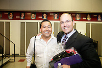 """23 May 2011:  Mater Dei Speaker Series featured Class of 1989 former ASB President Juan Zarate. He spoke on """"Crises and Opportunities: One Monarch's Journey through the World of National Security after 9/11"""" at Mater Dei High School in Santa Ana, California.  Images are for personal use.  ©ShellyCastellano.com"""