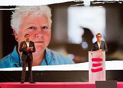 Launch of Edinburgh's Hogmanay programme 18 July 2017; Ed Bartlam, Co-Founder and Director of Underbelly and Charlie Wood, Owner, Underbelly, help launch the programme for Edinburgh's Hogmanay festivities at Mansfield Traquair Centre, Edinburgh.<br /> <br /> (c) Chris McCluskie   Edinburgh Elite media