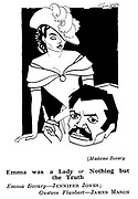 Punch cartoons by Robert Sherriffs..Film Review ;  ..Madam Bovary ; James Mason and Jennifer Jones......