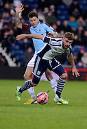 James Morrison during the The FA Cup match between West Bromwich Albion and Gateshead at The Hawthorns, West Bromwich, England on 3 January 2015. Photo by Alan Franklin.