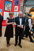 BELINDA DIMBLEBY; DAVID DIMBLEBY, Royal Academy of Arts Annual dinner. Piccadilly. London. 29 May 2012.
