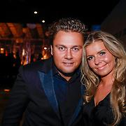 NLD/Amsterdam/20121206 - VIP night Masters of LXRY, Wesley Bronkhorst en ex schoonzus Eline de Bree