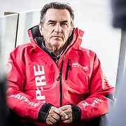 © María Muiña I MAPFRE: Entrevista al CEO del MAPFRE, Pedro Campos. Pedro Campos, the CEO of the MAPFRE, during an interview
