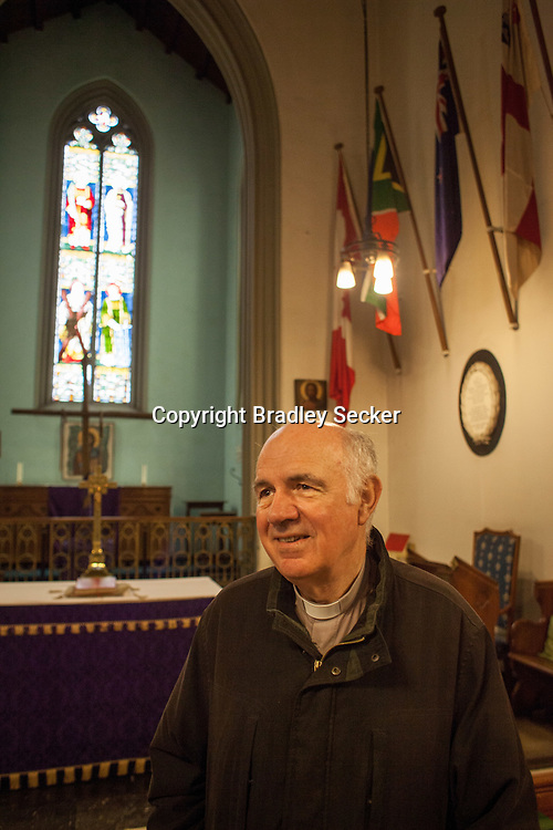 Father Malcolm is an Anglican pastor who's been working in Athens for 15 years, His time is often spent helping migrants and refugees in Greece.