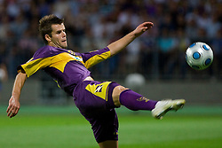 Elvedin Dzinic of Maribor at Third Round of Champions League qualifications football match between NK Maribor and FC Zurich,  on August 05, 2009, in Ljudski vrt , Maribor, Slovenia. Zurich won 3:0 and qualified to next Round. (Photo by Vid Ponikvar / Sportida)