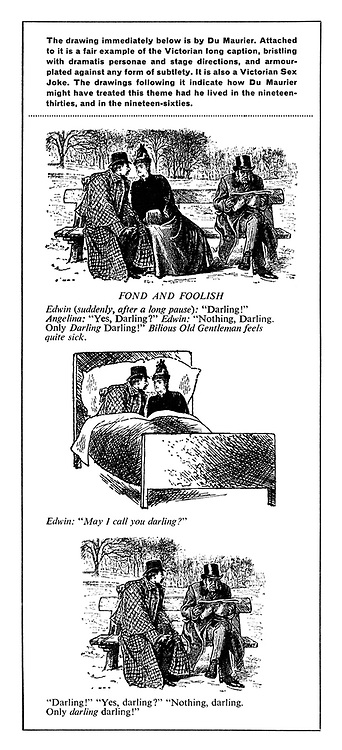 (Variations on George du Maurier's Fond and Foolish cartoon)
