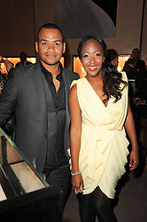 Angellica Bell and Michael Underwood at a party to celebrate the publication of Inheritance by Tara Palmer-Tomkinson at Asprey, 167 New Bond Street, London on 28th September 2010.