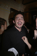 Giles Coren. The Literary Review's Bad Sex Awards. annual ceremony for authors who write about sex in a 'redundant, perfunctory, unconvincing and embarrassing way. In and Out Club. London.  1 December  2005. ONE TIME USE ONLY - DO NOT ARCHIVE  © Copyright Photograph by Dafydd Jones 66 Stockwell Park Rd. London SW9 0DA Tel 020 7733 0108 www.dafjones.com