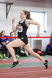 womens 400 meter, heat 4, Brown, Gracie Whelan<br /> BU John Terrier Classic <br /> Indoor Track & Field Meet