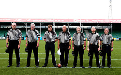 Referees for the BAFA Britbowl National League Finals 2017 - Mandatory by-line: Robbie Stephenson/JMP - 26/08/2017 - AMERICAN FOOTBALL - Sixways Stadium - Worcester, England - Tamworth Phoenix v London Blitz - BAFA Britbowl National League Finals 2017