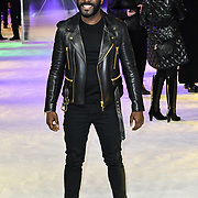 Melvin Odoom attends Premiere of M. Night Shyamalan's superhero thriller Glass, which follows Unbreakable and Split on 9 January 2019, London, UK.