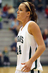 10 January 2009: Sarah Cotner. The Lady Titans of Illinois Wesleyan University downed the and Lady Thunder of Wheaton College by a score of 101 - 57 in the Shirk Center on the Illinois Wesleyan Campus in Bloomington Illinois.