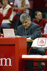 12 March 2005<br /> <br /> ISU (Illinois State University) Sports Information Director Tom LaMonica.<br /> <br /> 8th seed and Tournament Host, Illinois State University Redbirds, played spoiler and best the #1, #2 & #4 ranked teams to win the Missouri Valley Confernce Hoops in the Heartland Tournament.  In the final game today, the Redbirds bested the #2 seeded Indiana State University Sycamores by 2 points with a .8 second to go buzzer beater jump shot from the middle of the lane.  The Redbirds get an automatic birth to the NCAA Tournament. The Redbirds last played in the NCAA Tournament in 1989.  Hoops in the Heartland was held at Redbird Arena, Illinois State University, Normal IL