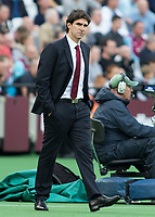 Football - 2016 / 2017 Premier League - West Ham United vs. Middesborough <br /> <br /> Middlesborough Manager Aitor Karanka  at The London Stadium.<br /> <br /> COLORSPORT/DANIEL BEARHAM
