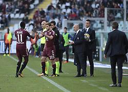 October 22, 2017 - Turin, Italy - Lucas Boye during Serie A match between Torino v Roma, in Turin, on October 22, 2017  (Credit Image: © Loris Roselli/NurPhoto via ZUMA Press)