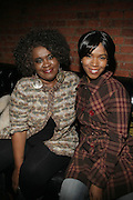 l to r: Bobbi Humpherey and Ricci Niles at The Jamie Foxx's Album Release Party for Intuition, Sponsored by Vibe Magazine & Patron Tequila held at Home on December 17, 2008 in New York City..