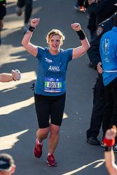 04-11-2018 USA: 2018 TCS NYC Marathon, New York<br /> Race day  TCS New York City Marathon / Anke