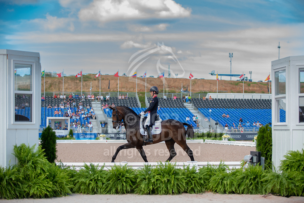 Charlotte DUJARDIN (GBR) & MOUNT ST JOHN FREESTYLE - Dressage - Team Competition & Individual Qualifier (Grand Prix) - FEI World Equestrian Games™ Tryon 2018 - Tryon, North Carolina, USA - 13 September 2018
